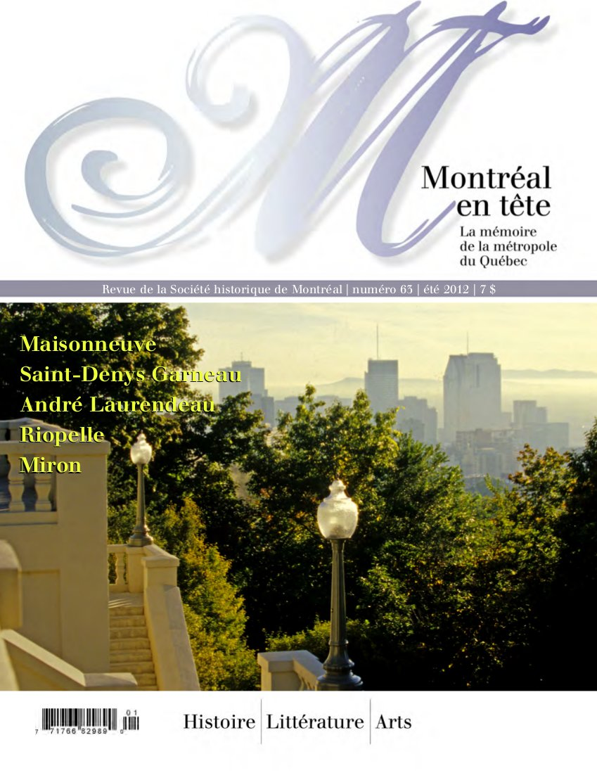 montreal-en-tete-no-64-automne-2013-couverture